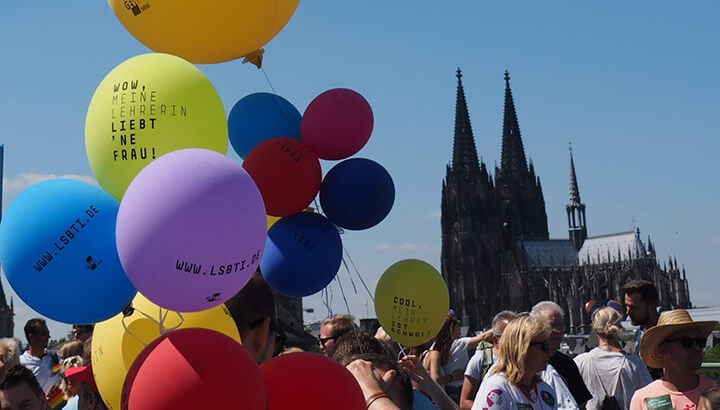 CSD in Köln: Coming-out in deinem Style